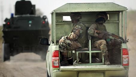 Nigerianische Soldaten im Einsatz gegen Boko Haram