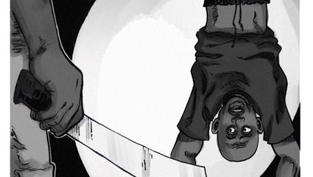 Illustration von Amnesty International Nigeria zu Folter in der Polizeieinheit SARS